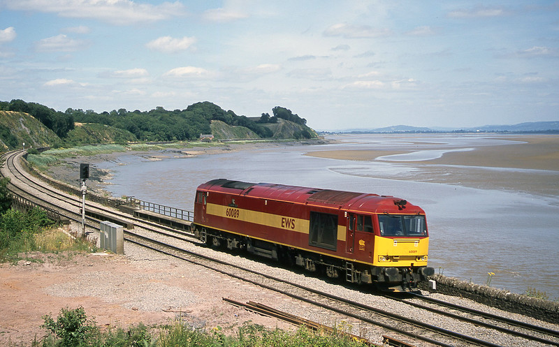 60089, Westerleigh-Margam light, Purton, near Lydney, 11-7-03