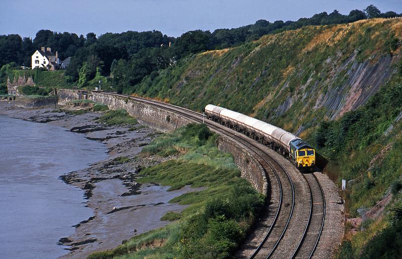 66611, 07.36 Baglan Bay-Humber, Purton, near Lydney, 11-7-03.