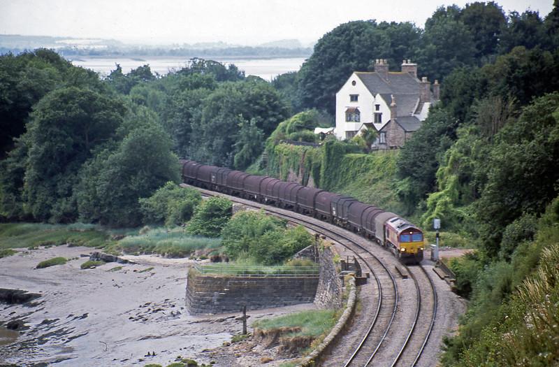 66038, 10.30 Llanwern-Round Oak, Purton, near Lydney, 11-7-03.