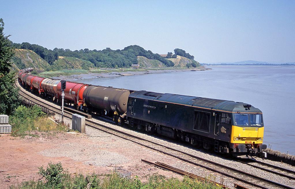 60081, 13.10 Westerleigh-Robeston, Purton, near Lydney, 14-7-03.
