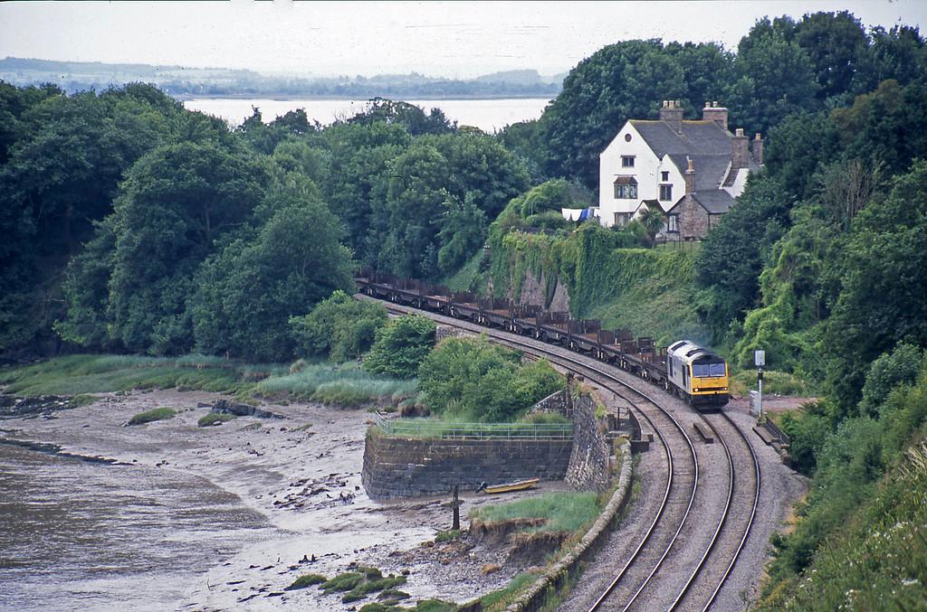 60076, 11.42 Llanwern-Lackenby, Purton, near Lydney, 1-7-03.