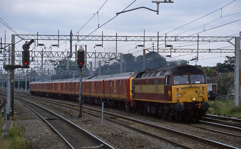 47786/325012/325014, Crewe-Willesden, Rugeley Trent Valley, 24-6-03.