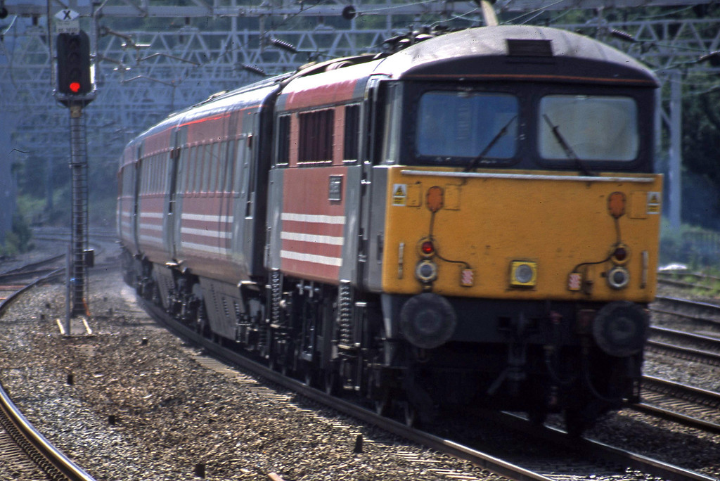 87020, up passenger, Rugeley Trent Valley, 10-6-03.