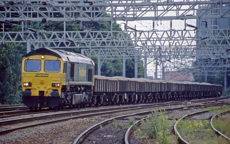 66604, down ballast, Rugeley Trent Valley, 10-6-03.