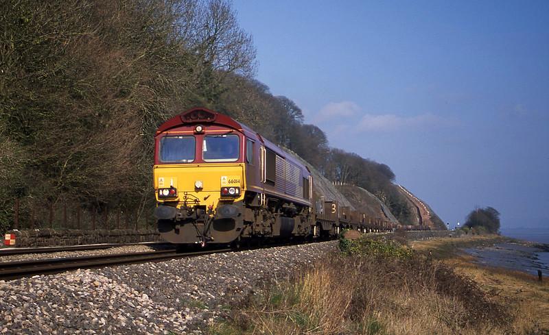 66014, 06.02 Laceknby-Llanwern, Gatcombe, near Lydney, 21-3-03.