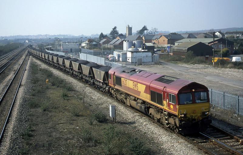 66217, 10.03 Parc Slip-Westbury, Severn Tunnel Junction, 26-3-03.