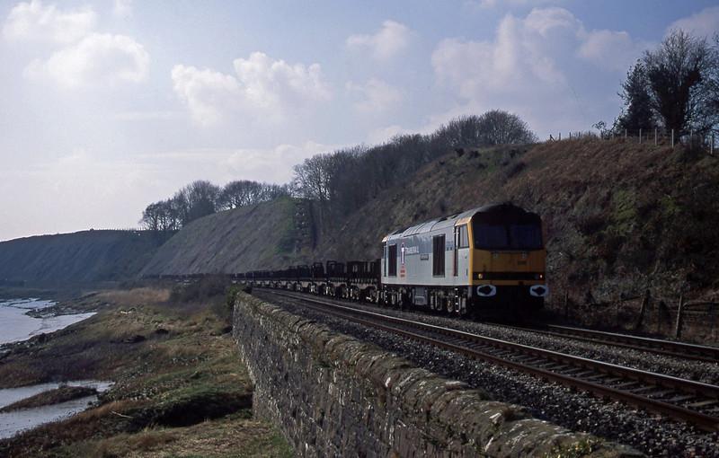 60056, 10.52 Margam-Lackenby, Gatcombe, near Lydney, 21-3-03.