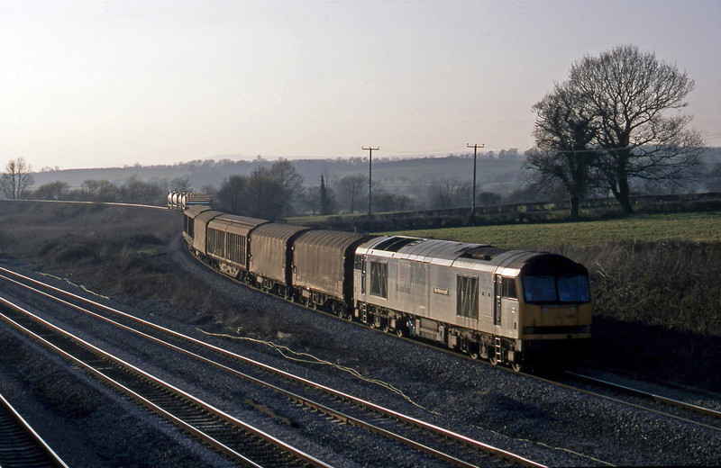 60099, 16.38 Newport Alexandra Dock Junction-Wembley, Llandevenny, near Llanwern, 21-3-03.