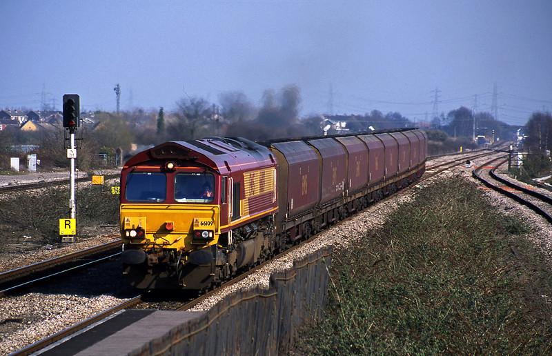 66109, Avonmouth Bulk Handling Terminal-Aberthaw Power Station, Severn Tunnel Junction, 19-3-03.