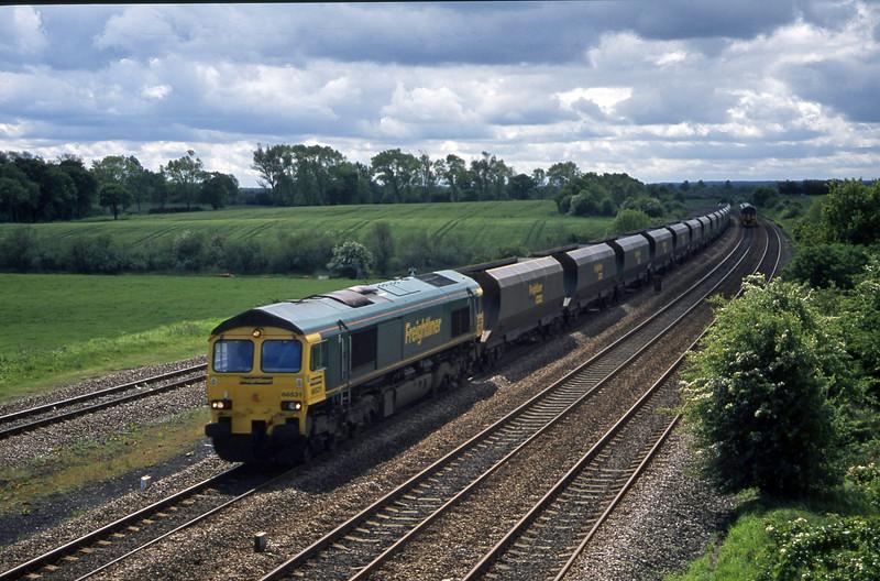 66531, down mgr empties, Bolton Percy, near York, 20-5-03.