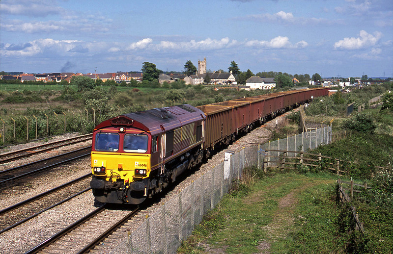 66046, 15-12 Westbury-Tower Colliery, Severn Tunnel Junction, 6-5-03.