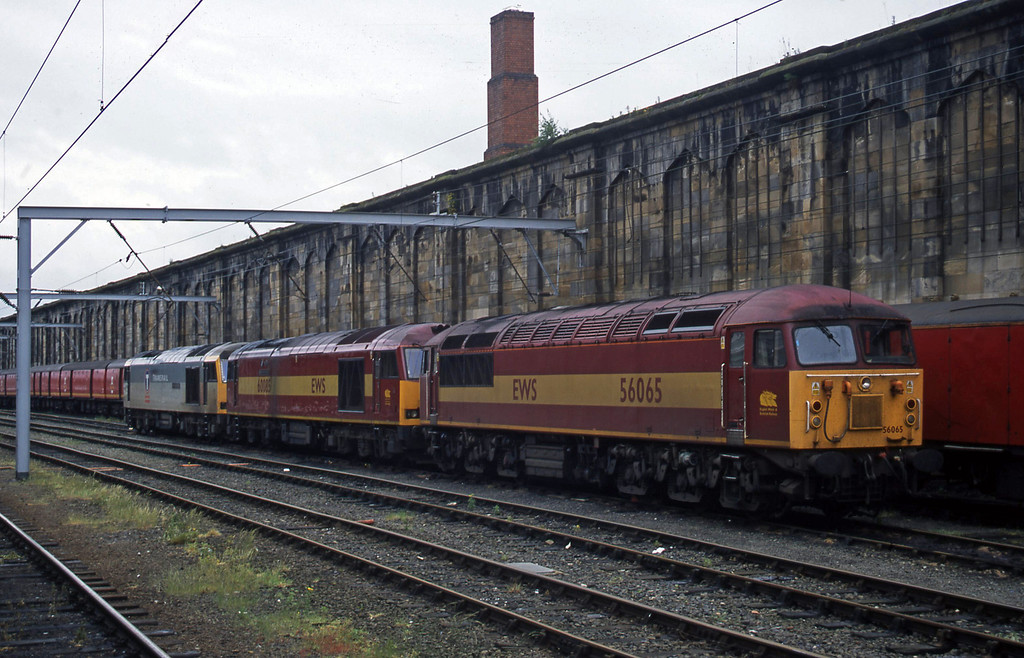 56065/60085/60066, stabled, Carlisle, 22-5-03.
