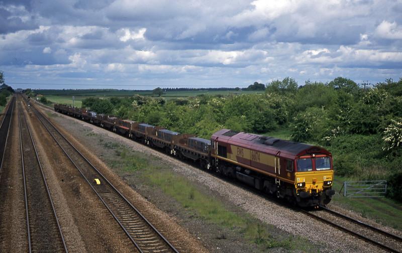 66174, 12.59 Lackenby-Llanwern, Bolton Percy, near York, 20-5-03.