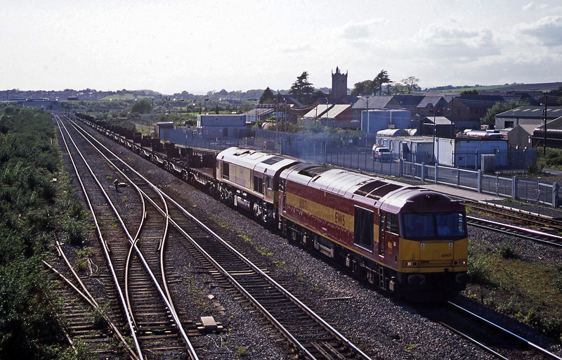60071/66016,  17.19 Llanwern-Lackenby, Severn Tunnel Junction, 6-5-03.