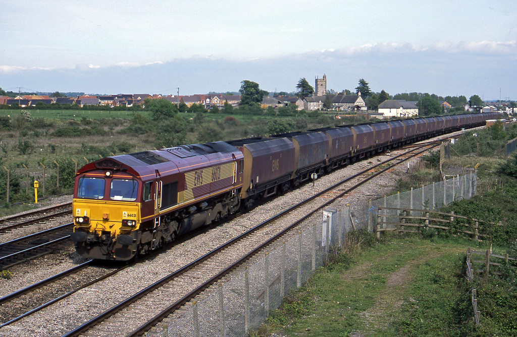 66021, Avonmouth Bulk Handling Terminal Aberthaw Power Station, Severn Tunnel Junction, 7-5-03.