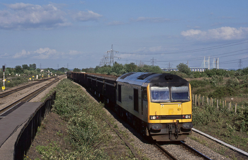 60067, 13.48 Beeston-Newport Docks, Severn Tunnel Junction, 6-5-03.