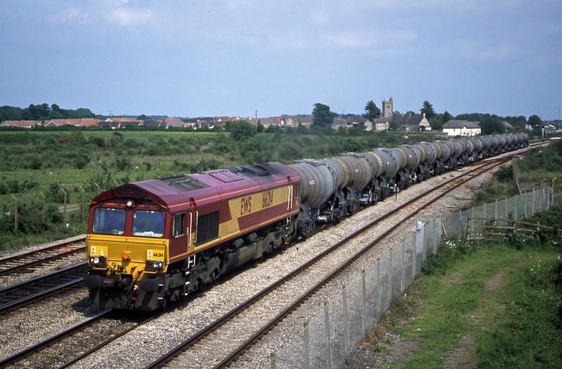 66214, 09.40 Burngullow-Irvine, Severn Tunnel Junction, 28-5-03.