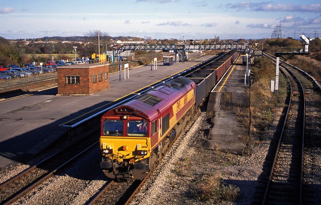 66156, 12.52 Avonmouth Bennett's Siding-Penyfford, Severn Tunnel Junction, 12-11-03.