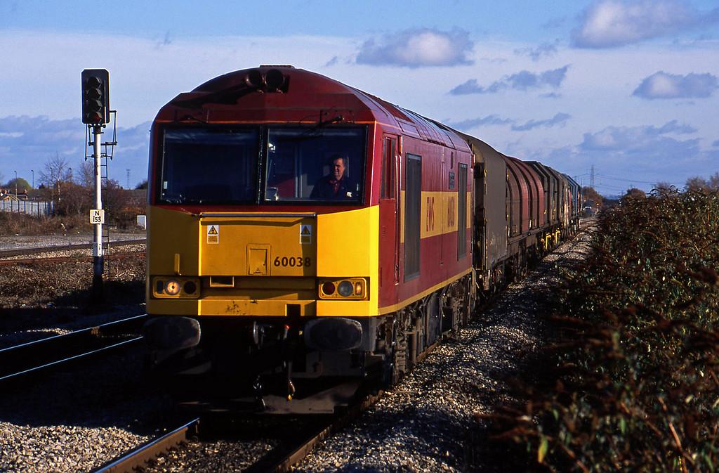 60038, 09.55 Round Oak-Margam, via Bristol Parkway, Severn Tunnel Junction, 12-11-03.