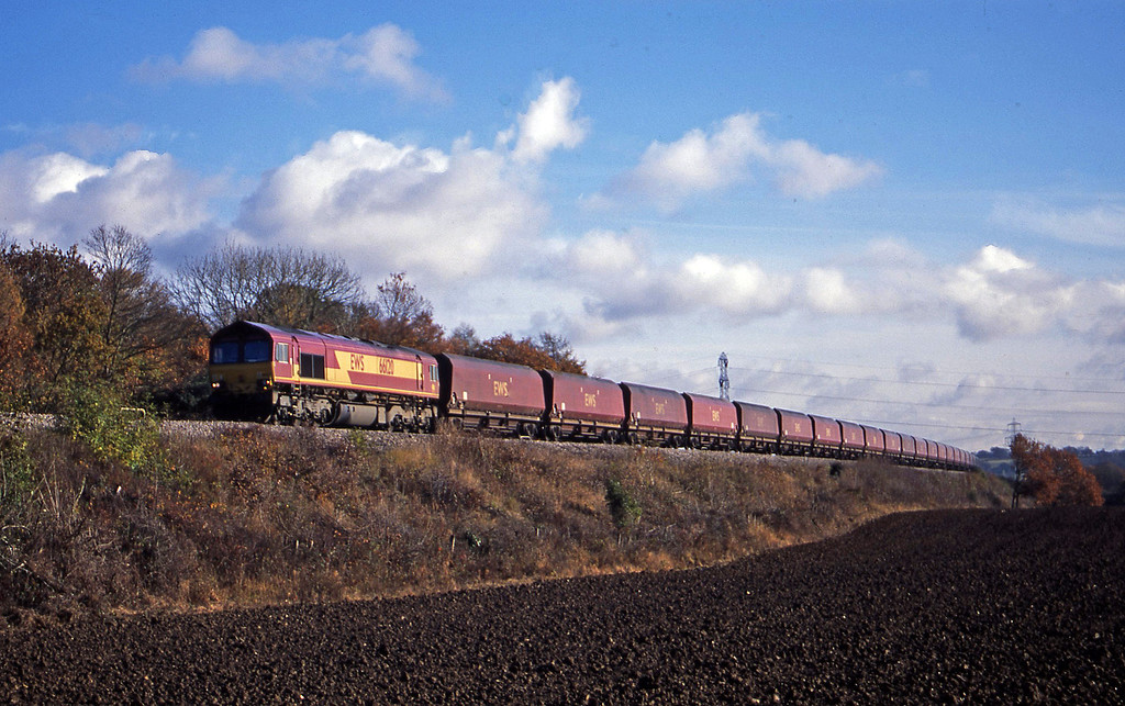 66120, Didcot Power Station-Avonmouth Bulk Handlinjg Terminal, Coalpit Heath, near Bristol, 12-11-03.