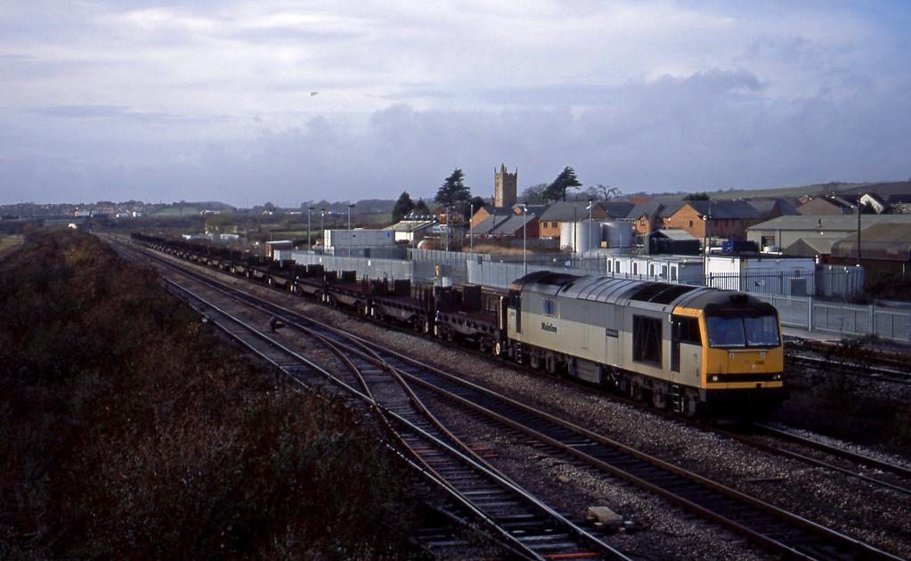 60086, 11.51 Margam-Lackenby, Severn Tunnel Junction, 25-11-03.