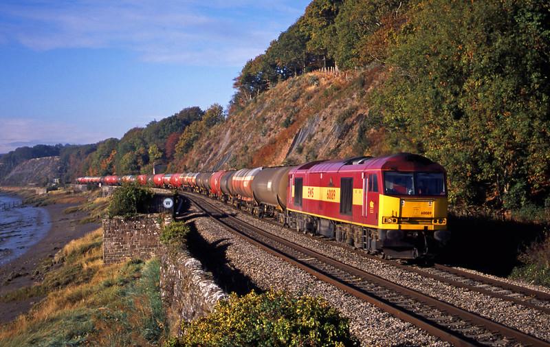 60089, 05.36 Robeston-Westerleigh, Gatcombe, near Lydney, 21-10-03.