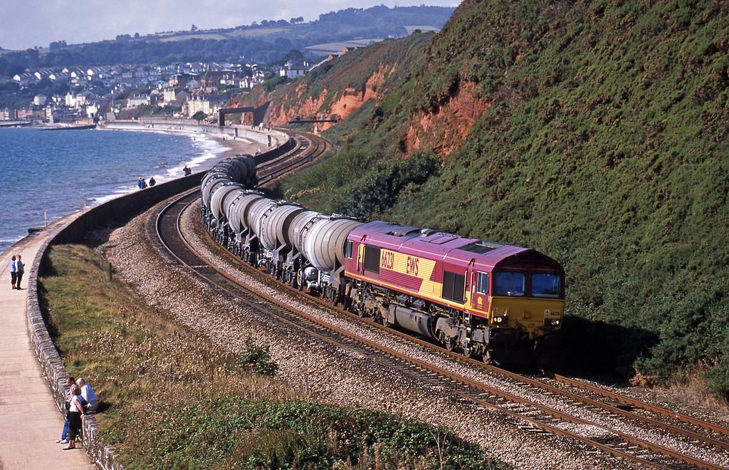 66231, 09.40 Burngullow-Warrington, Dawlish, 13-9-03.