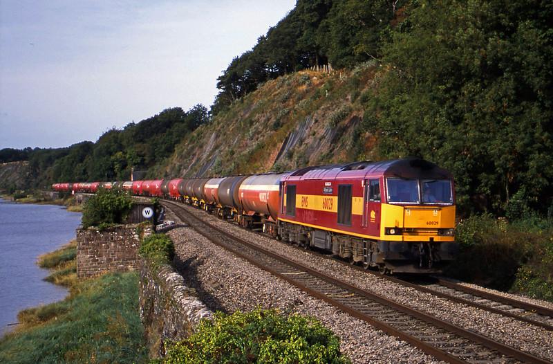 60029, 05.36 Robeston-Westerleigh, Gatcombe, near Lydney, 12-9-03.