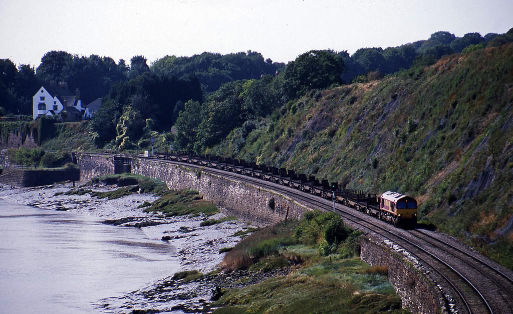 66079, 11.42 Llanwern-Lackenby, Purton, near Lydney, 12-9-03.