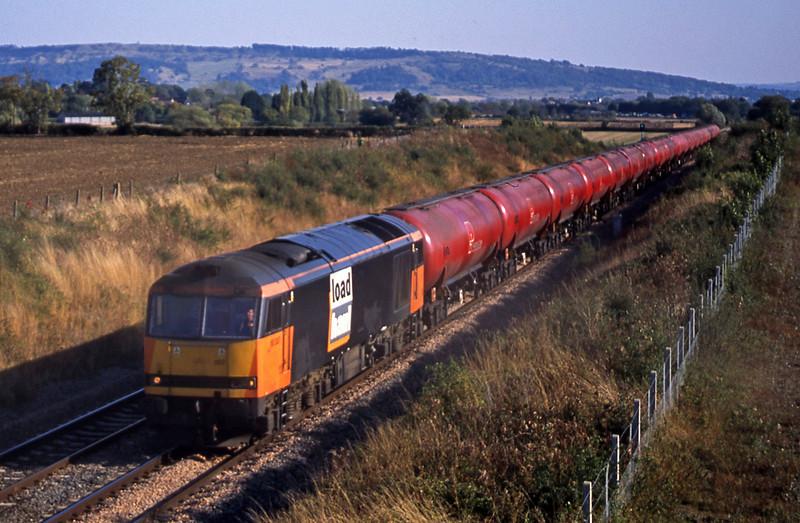 60007, 15.10 Westerleigh-Port Clarence, Besford, near Evesham, 17-9-03.