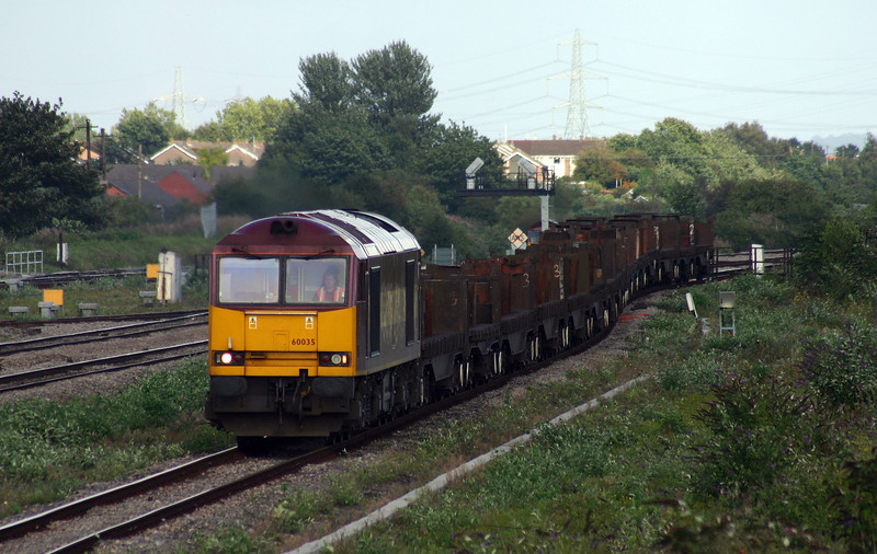 60035, 08.17 Lackenby-Margam, Severn Tunnel Junction, 24-8-04.