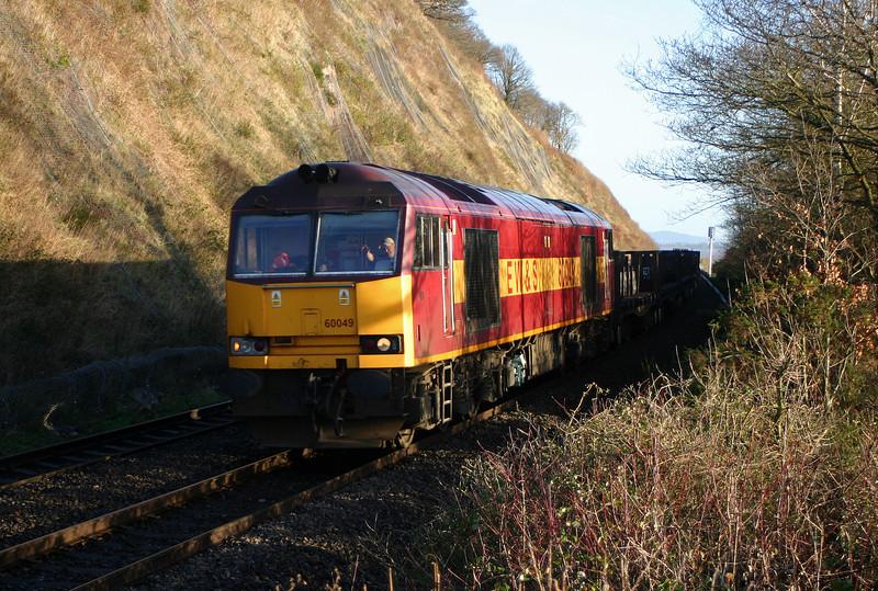 60049, 00.51 Lackenby-Llanwern, Gatcombe, 28-12-04.
