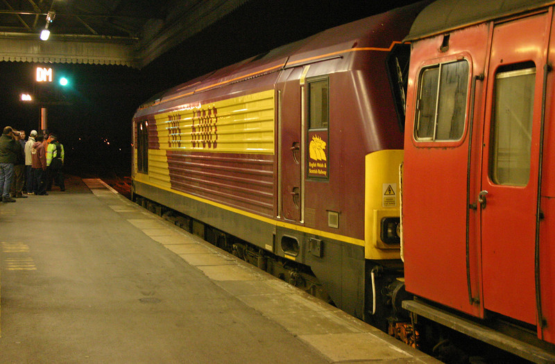 67003, 21.45 Reading-Plymouth,  Exeter St David's, 9-1-04. Last TPOs night.