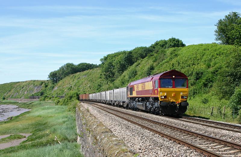 66200, 10.20 Llanwern-Lackenby, Gatcombe, 13-6-04.