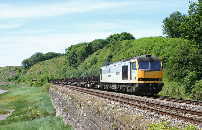 60099, 11.10 Llanwern-Lackenby, Gatcombe, 13-6-04.