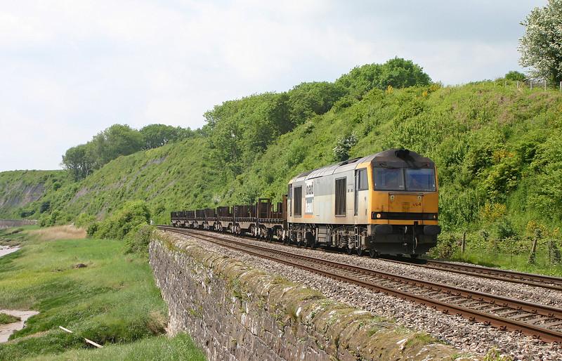 60064, 11.14 Llanwern-Lackenby, Gatcombe, 18-5-04.