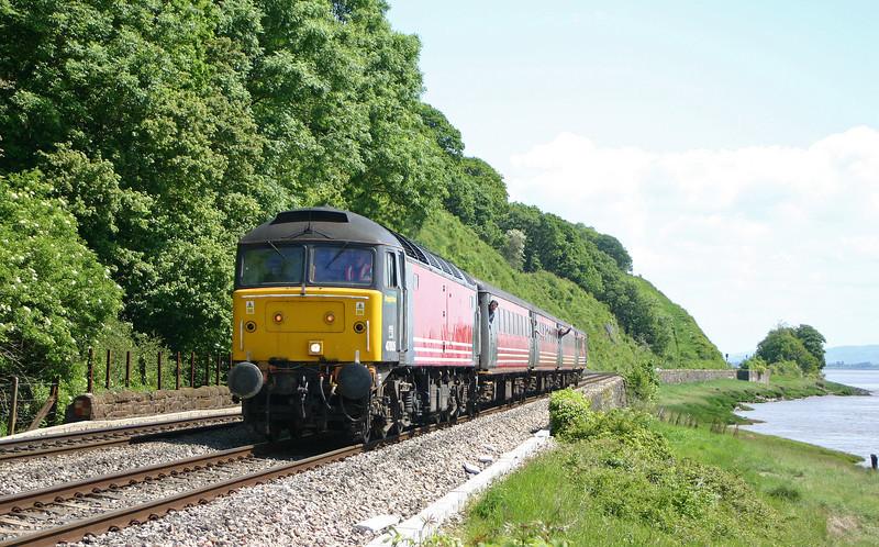 47805, Gloucester-Cardiff shuttle, Gatcombe, 22-5-04.