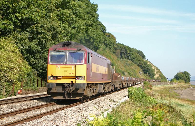 60051, 05.51 Lackenby-Llanwern, Gatcombe, 9-9-04.