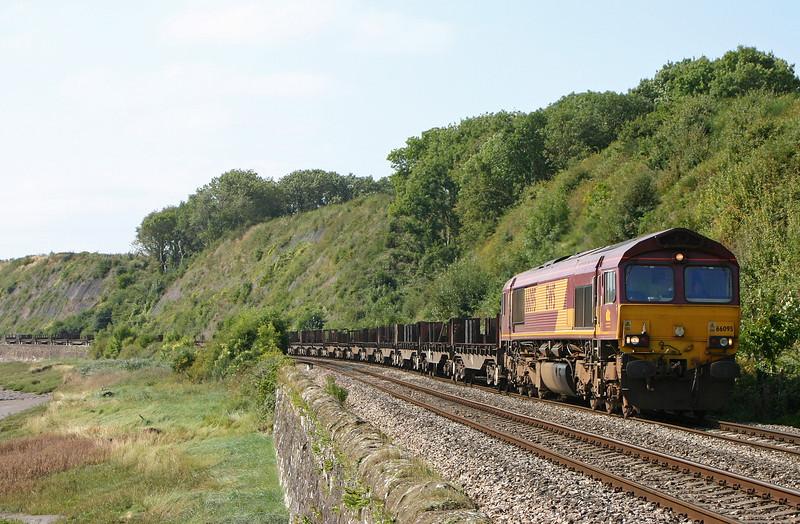66095, 11.14 Llanwern-Lackenby, Gatcombe, 7-9-05.