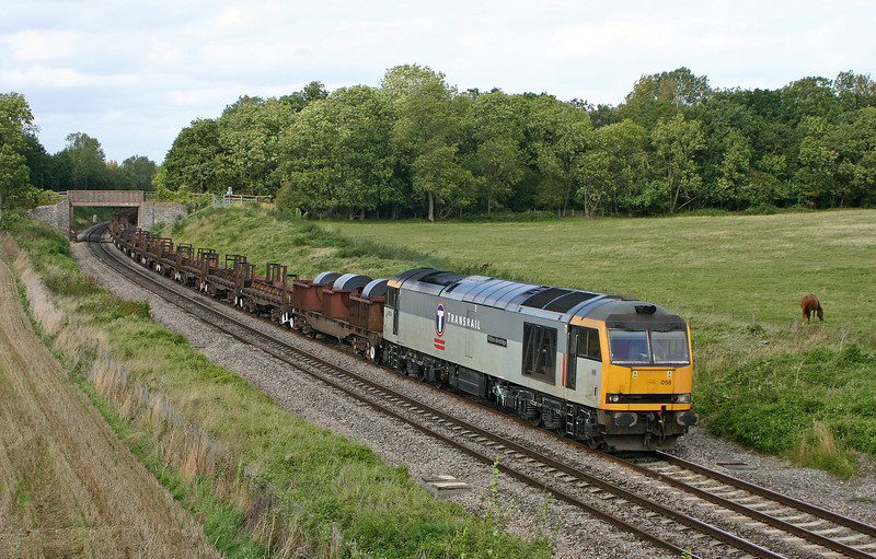 60056, 10.10 Corby-Margam, Besford, near Pershore, Worcestershire, 16-9-04.