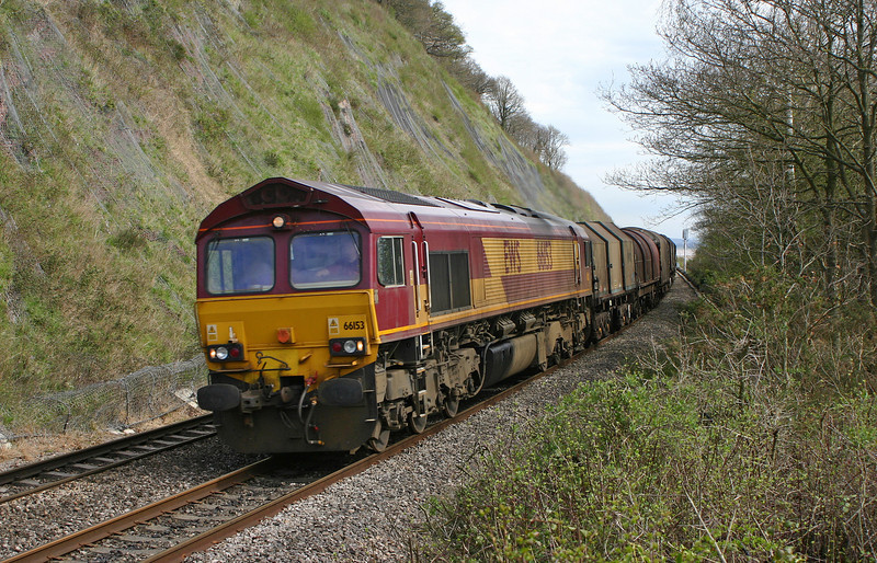 66153, 09.24 Round Oak-Margam, Gatcombe, 4-4-05.