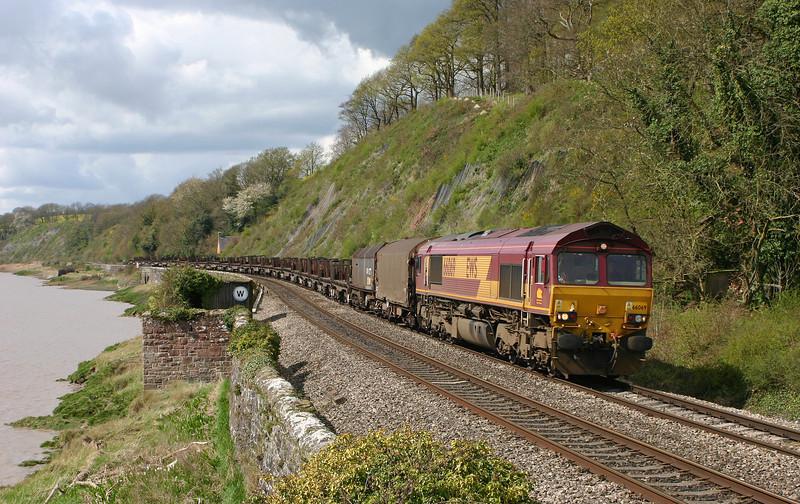 66069, 11.14 Llanwern-Lackenby, Gatcombe, 14-4-05.