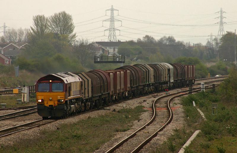 66001, 09.24 Round Oak-Margam, Severn Tunnel Junction, 11-4-05.