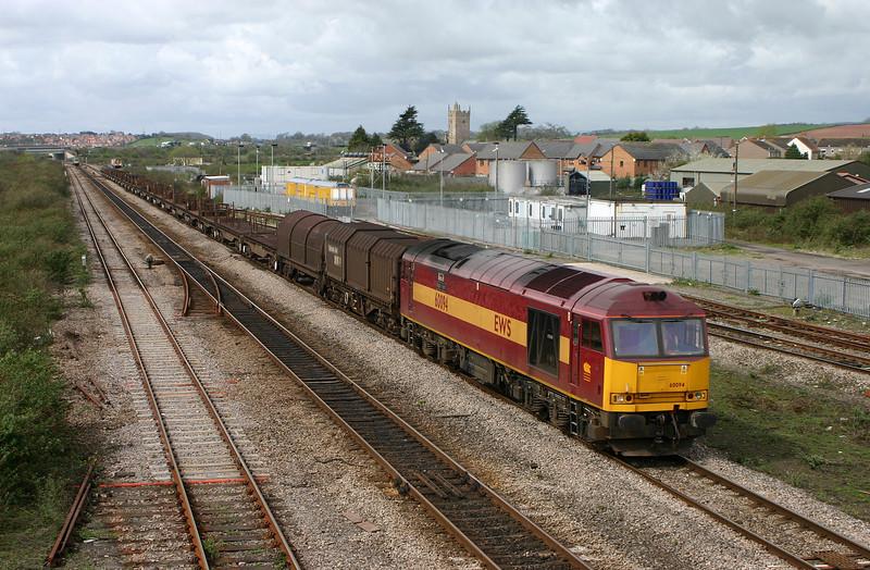 60094, 11.14 Llanwern-Lackenby, Severn Tunnel Junction, 5-4-05.