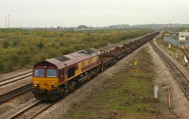 66199, 09.33 Margam-Lackenby, Severn Tunnel Junction,11-4-05.