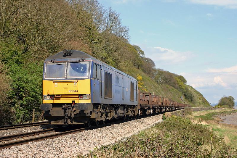 60044, 10.10 Corby-Margam, Gatcombe, 14-4-05.