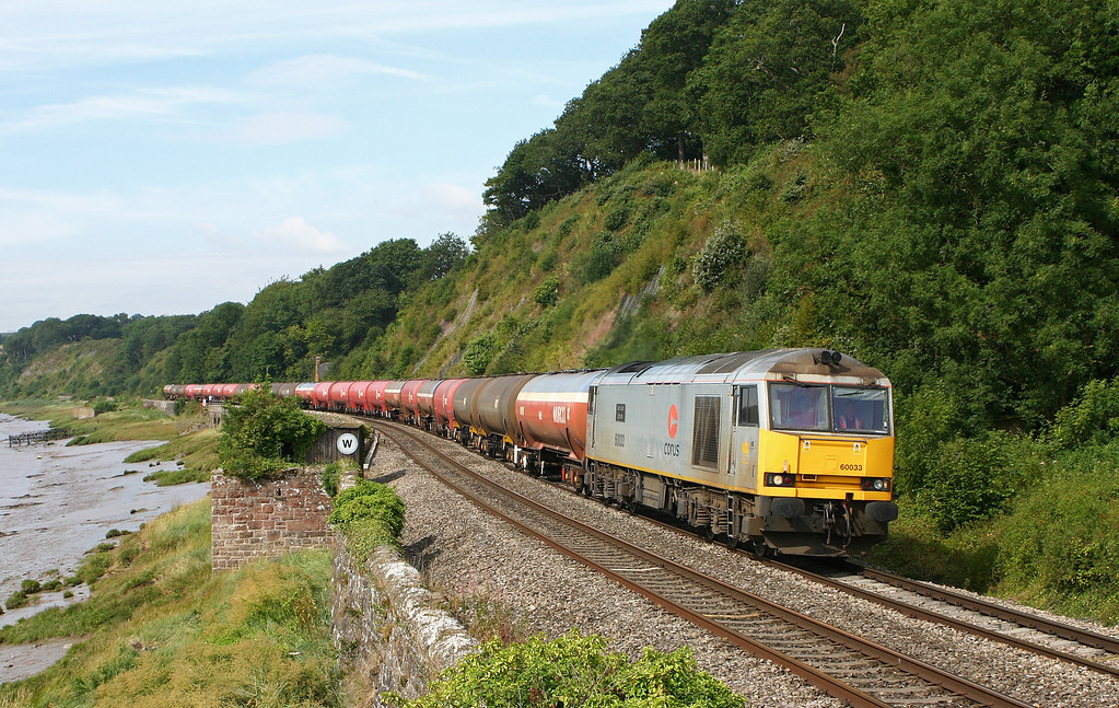 60033, 05.33 Robeston-Westerleigh, Gatcombe, 11-8-05.