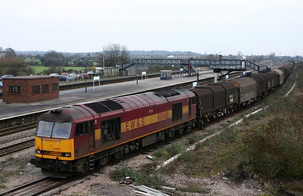 60049, 09.39 Round Oak-Margam, Severn Tunnel Junction, 22-12-05.