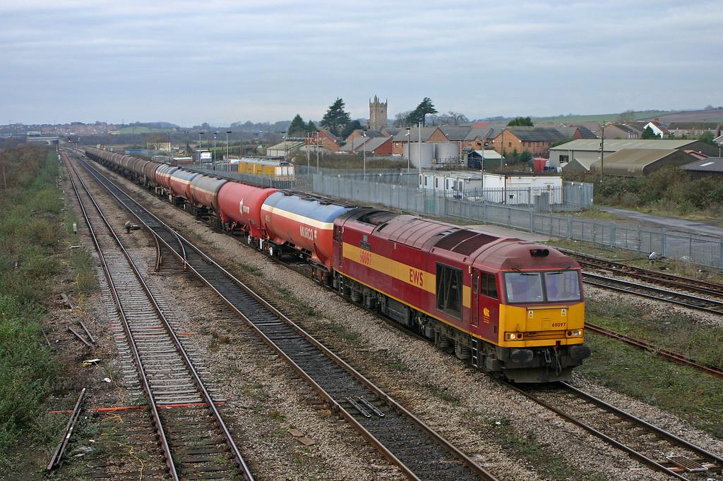 60097, 05.33 Robeston-Westerleigh, Severn Tunnel Junction, 22-12-05.