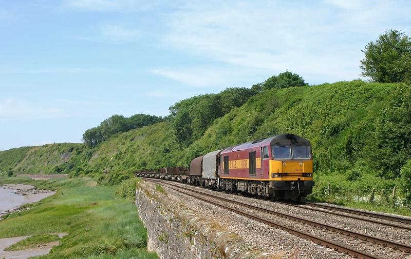 60049, 11.14 Llanwern-Lackenby, Gatcombe, 22-6-05.
